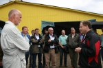 A visit of representatives of Claas KGaA mbH