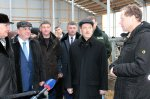 Opening of the modern dairy farm in Vysokoe