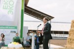 Opening of the modern dairy farm Ulanovo