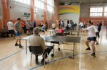 Corporate table tennis competitions