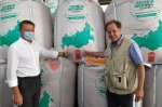 Acting Governor of Kursk oblast visits a seed-processing plant